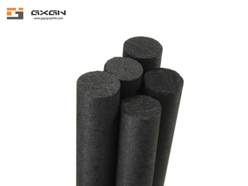 Manufacturer supply customized high density fine grain isostatic graphite bar graphite rod