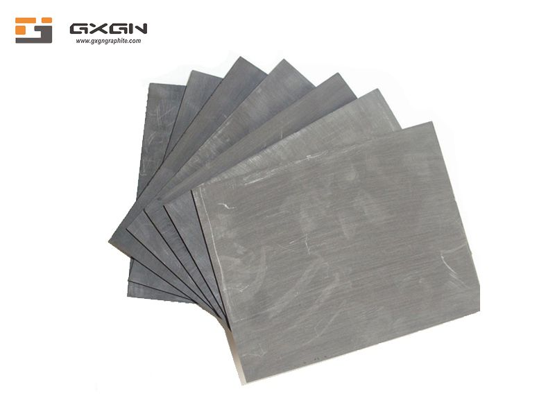 High density pure customized square size carbon graphite sheet