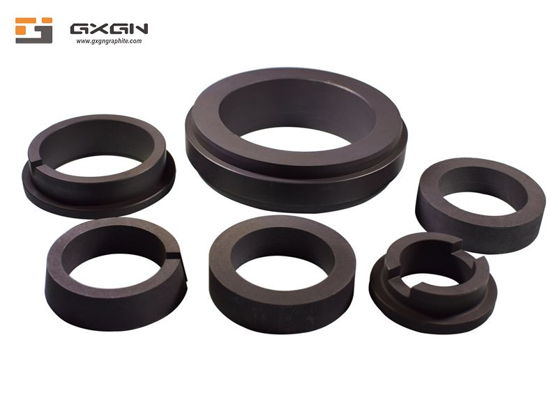 High Quality Sealing Material Graphite Ring High Temperature OEM Custom Graphite Seal Rings