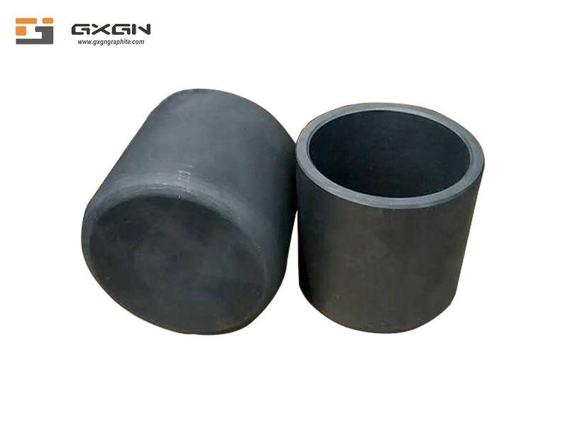 Gasification graphite crucible for vacuum coating aluminum zinc